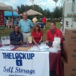 National Night Out Lock Up table