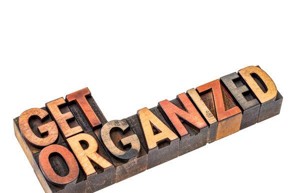 Get Organized Part 1