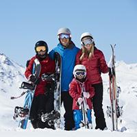 Winter Ski gear self Storage