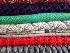 Fold winter sweaters for better storage