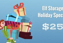 Elf Storage Holiday Special
